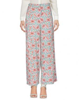Повседневные брюки OPALINE. Цвет: небесно-голубой
