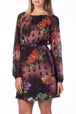 Платье Duse. Цвет: multicolor