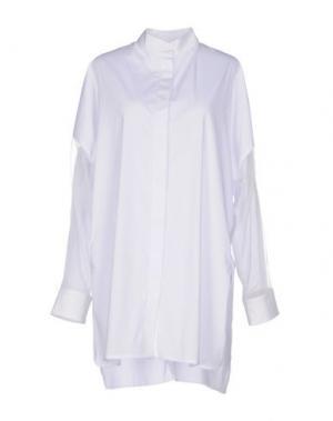 Pубашка PAOLO ERRICO. Цвет: белый