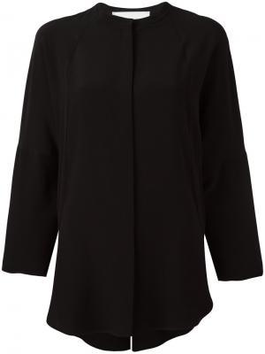Классическая рубашка 8pm. Цвет: чёрный