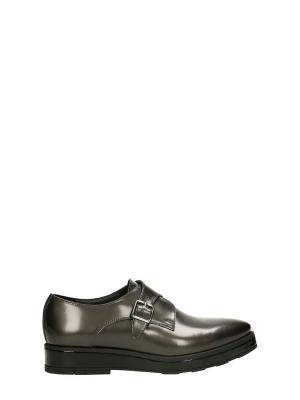 Ботинки GINO ROSSI. Цвет: серый