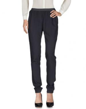 Повседневные брюки HARTFORD. Цвет: свинцово-серый