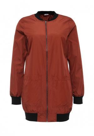Куртка Jacqueline de Yong. Цвет: коричневый