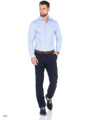 Рубашка - MASCATE MANGO MAN. Цвет: синий