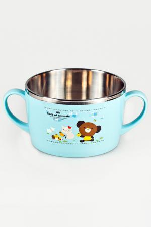 Чашка с двумя ручками Sun Woo. Цвет: голубой