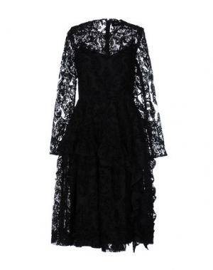 Платье до колена SIMONE ROCHA. Цвет: черный