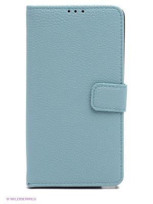 Чехол для Samsung Note 4 WB. Цвет: серо-голубой