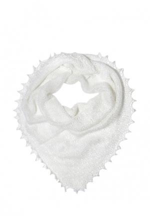 Платок ОренбургШаль. Цвет: белый