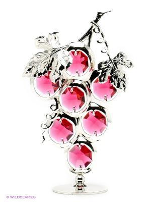 Фигурка Гроздь винограда Юнион. Цвет: серебристый, розовый