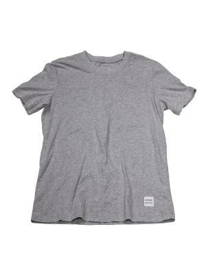 Футболка Converse Sportswear Tee. Цвет: серый