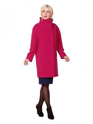 Пальто ROSSO-STYLE. Цвет: фуксия