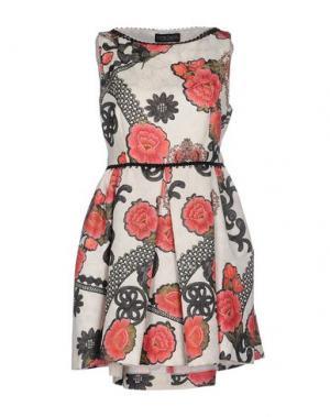 Короткое платье NORA BARTH. Цвет: слоновая кость