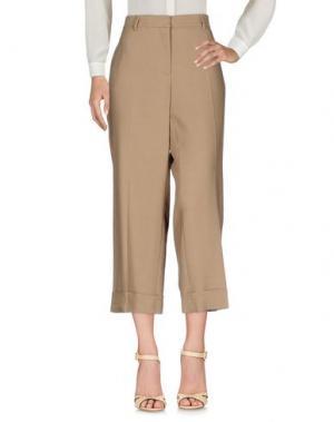 Повседневные брюки ROOM 52. Цвет: верблюжий