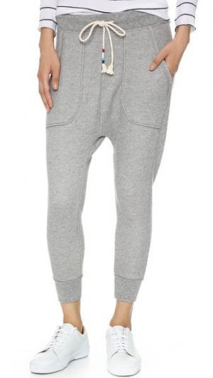 Укороченные спортивные брюки Mocktwist Sol Angeles. Цвет: серый