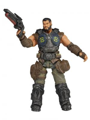 Фигурка Gears of War 3 3/4 Series 2 - Dominic Santiago /5шт (10702030/170713/0049928/1, КИТАЙ) Neca. Цвет: серый