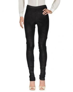 Повседневные брюки ISABEL BENENATO. Цвет: черный