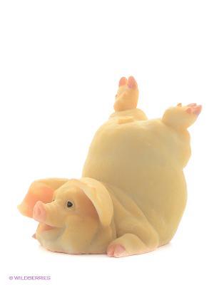 Фигура мал. Свинья Гимнаст Sealmark. Цвет: розовый