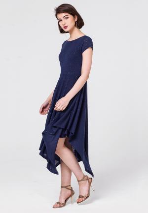 Платье Vilatte. Цвет: синий