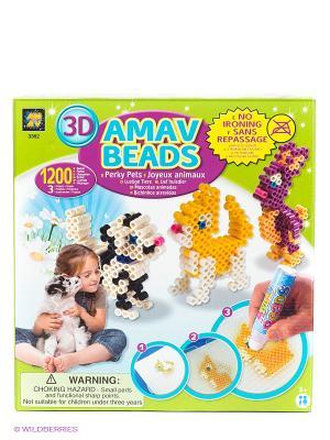 Набор Домашние животные AMAV. Цвет: желтый, белый, черный, фиолетовый