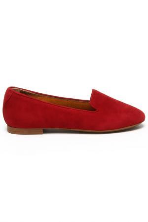 Полуботинки Dolce&Gabbana. Цвет: бордовый