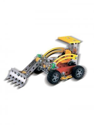 Конструктор Железный S3 Трактор L Склад Уникальных Товаров. Цвет: серебристый
