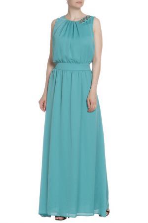 Платье Liu Jo. Цвет: бирюзовый