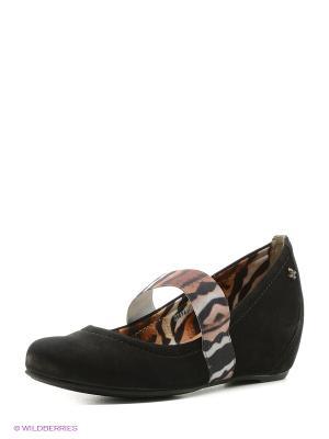 Туфли Cravo&Canela. Цвет: черный