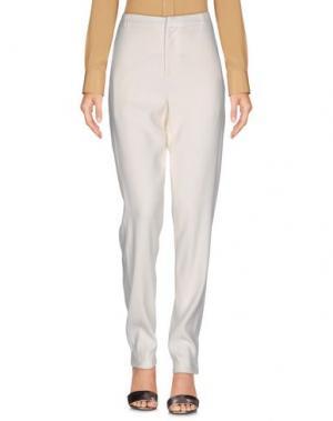 Повседневные брюки SWILDENS. Цвет: белый