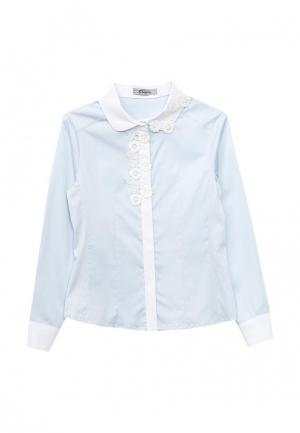 Блуза Choupette. Цвет: голубой