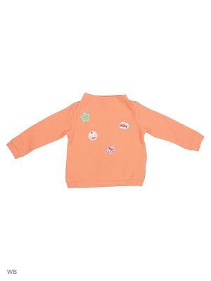 Свитшот United Colors of Benetton. Цвет: оранжевый