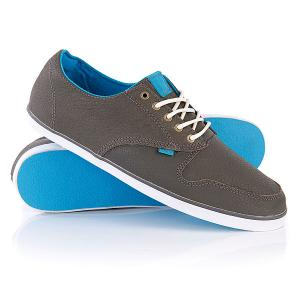 Кеды кроссовки низкие  Topaz Premium Charcoal Element. Цвет: серый