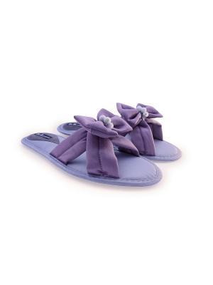 Домашняя обувь Petit Pas. Цвет: сиреневый