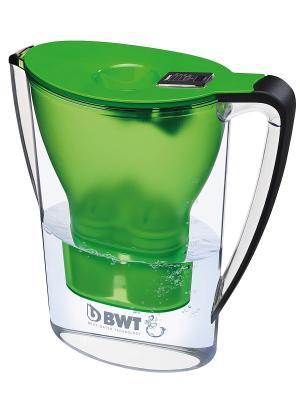 Кувшин Пингвин BWT зеленый чай. Цвет: зеленый