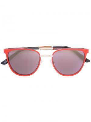 Солнцезащитные очки Money Smoke X Mirrors. Цвет: красный