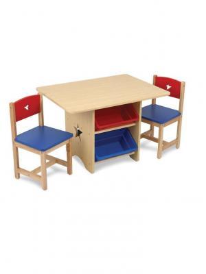 Набор детской мебели Star KidKraft. Цвет: синий, бежевый, красный