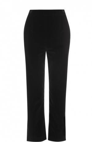 Укороченные брюки прямого кроя Isa Arfen. Цвет: черный