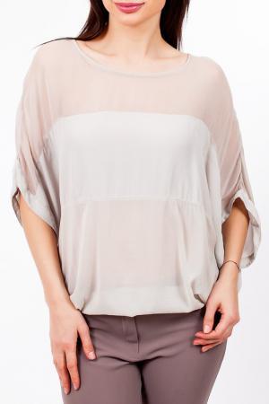 Блузка EUROPEAN CULTURE. Цвет: серый