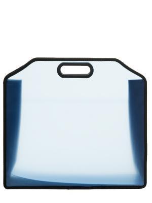 Папка пластиковая, одно отделение. Sagaform. Цвет: голубой