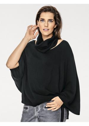 Пуловер с шарфом B.C. BEST CONNECTIONS. Цвет: кремовый, серо-коричневый, серый меланжевый, черный