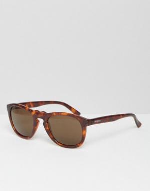 Mr Boho Солнцезащитные очки в черепаховой оправе Mr. Jordaan. Цвет: коричневый