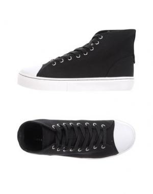 Высокие кеды и кроссовки CLEAR WEATHER. Цвет: черный