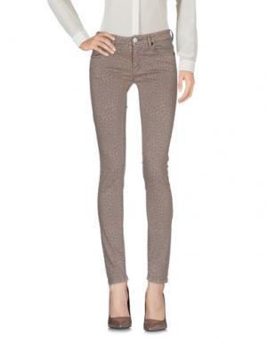 Повседневные брюки FAIRLY. Цвет: хаки