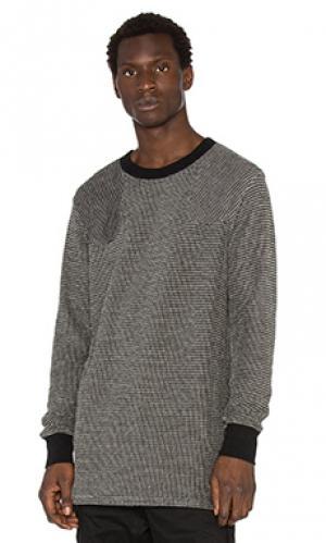 Свитер с длинным рукавом NLST. Цвет: black & white