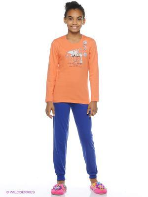 Комплект Vienetta Secret. Цвет: оранжевый