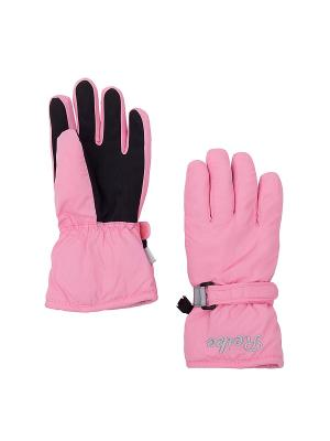 Перчатки REIKE. Цвет: розовый