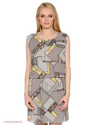 Платье MEXX. Цвет: серый