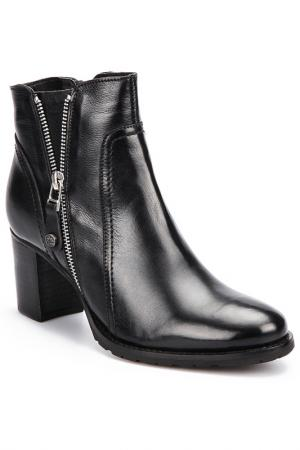 Ankle boots Otto Kern. Цвет: black