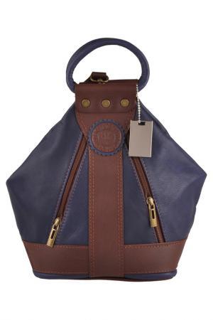 Рюкзак Lattemiele. Цвет: blue, brown