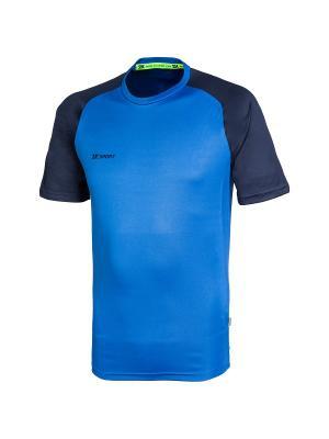 Футболка тренировочная Performance 2K. Цвет: темно-синий, синий