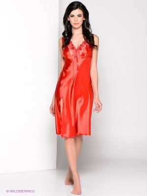 Сорочка Gorsenia. Цвет: оранжевый